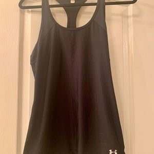 Under armor racerback workout tank, size small